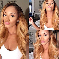 Shows Shine 1B 27 360 Lace Frontal Wig Peruvian Body Wave Re...