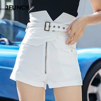 JFUNCY Shorts Taille Haute 2019 Printemps Été Femmes Denim Short Jeans Dames Hot Shorts Casual Denim Femme