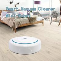 Roboterstaubsauger USB voll automatische Mini Vacuuming Roboter Haushaltsgeräte Lade Kehrmaschine Bodenstaub Planned Wash Mop
