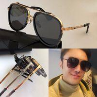 Neue M Twelv Sonnenbrille Männer Top Qualtiy Metall Vintage Mode Stil Oval Rahmen Outdoor Protection UV 400 Objektiv Eyewear Heißer Verkauf mit Fall