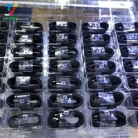 1000 قطعة / الوحدة الأسود لسامسونج غالاكسي s8 زائد note7 ملاحظة 7 8 سريع رقاقة شاحن السفر الجدار شحن الحبل 1.2 متر نوع- c كابل