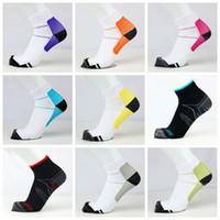Calcetines de compresión unisex Anticansancio fascitis FXT Calcetines Elite Profesional de Baloncesto calcetines de deporte de funcionamiento cortos del tobillo del calcetín regalo PY7136