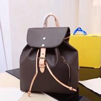 Classic Leder Schulter Mode Rucksack für Frauen Schachbrettmuster klassischen Rucksack ziehen kleine Stadtstreicherin Urlaubsreisen Rucksack