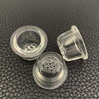 Kaşık Boru yüksek borosilikat cam Mesh Bowl Sigara Aksesuar Silikon Boru Petek Cam çanak Yedek Cam Ekran Bowl