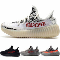 Baby Kids Shoes Kanye West Zebra Running Shoes Children Athl...