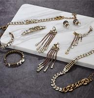 Серьги Dijia, латунная цепь шеи, ретро шпилька, зажим для ушей, женские серьги, новый модный Ушной крючок