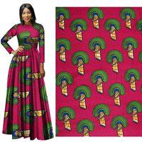 African National costume poliestere batik tessuto stampa geometrica abbigliamento modello in tessuto rifornimento diretto della fabbrica di buona qualità