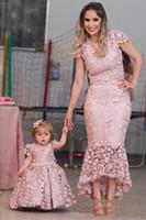 Vestidos das meninas da flor Filha da filha da filha da noite das mangas de jóias do pescoço da joia da jóia