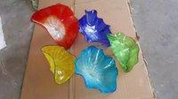 Заказные Цветные / Цветные Тарелки для Подвески на Стене 100% Муранское Стеклянное Стенное Искусство