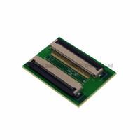 40-stift 0.5mm FPC / FFC PCB-kontaktuttagsadapterbräda, 40P Plattkabel Utsträckning för LCD-skärmgränssnitt