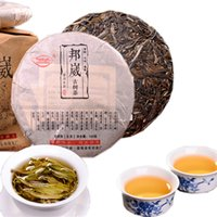 Sıcak satışların 100g Ham Pu Er Çay Bangwei Antik Ağacı Pu er Çay Kek Organik Doğal Pu'er Çay En Eski Ağacı Yeşil Puer