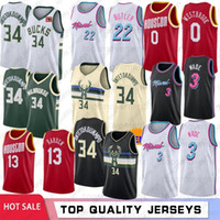 NCAA Giannis 34 Antetokounmpo College Men Basketball Jerseys...