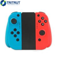 T-13 Беспроводной Bluetooth Игровой контроллер для Nintend Switch Console вправо Право Радость Ручка GRIP CON Контроллеры GamePad T13 Games Pad JoyPad