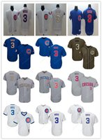 custom Chicago Men' s women youth Majestic Cubs Jersey #...