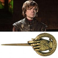 Game of Thrones Mão do Rei Cosplay Emblema Liga de Metal Broche Pin GB1118
