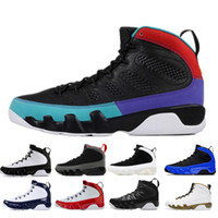 New 9 9s basketball shoes Gym Red UNC Racer Blue space jam OREGON DUCKS STATUE mens Countdown pack trainer athletic sports sneakers