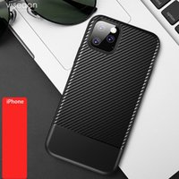 High quality For iPhone X XS XR MAX 8 7 6 Plus Carbon Fiber ...