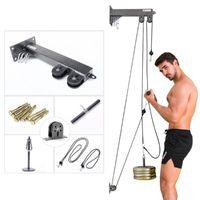 2020 Yeni Fitness Ekipmanları Kablo Makinası Ekler Kol Biceps Triceps Blaster Kablo Aksesuarları Çekme Halat Spor Bilek Merdane