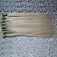 """16"""" 18"""" 20"""" 24"""" Remy U Dica extensão do cabelo humano máquina feita Remy Pré Bonded Hair Extension 1g / s Remy Hetero Cápsulas Queratina Cabelo Fusão"""