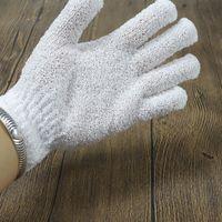 Banyo eldiveni duş fırçalayın peeling vücut masajı sünger eldiven