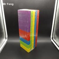 45 Stücke Bunte Block Stapeln Kunststoff Tumble Tower Spiele Pädagogisches Frühes Lernen Spielzeug Kinder Geschenke (Modellnummer B091)