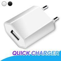 Универсальный USB зарядное устройство Полный 1A портативный адаптер питания ЕС Plug зарядный адаптер для универсального сотовых телефонов дома зарядное устройство адаптер