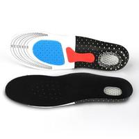 Multi-Size 3D weiche und komfortable rutschfeste Sport-Einlegesohle dicke absorbierende Schweißdeodorant Stoßdämpfer Basketball-Einlegesohle Schuh-Pad SJB002