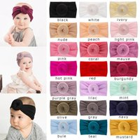 Cute Baby Girl Headbands Toddler Soft Knot Elastic Hairband ...