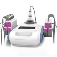 Кавитация 160mw 40K RF вела тело потери веса лазера Lypolysis уменьшая машину тела для домашней пользы