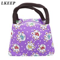 Women Lunch Bag Owl Thermal Insulated Tote Picnic Lunch Cool...