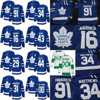St. Pats Toronto Maple Leafs Jersey John Tavares Auston Matthews Mitchell  Marner Frederik Andersen William Nylander Nazem Kadri Rielly 0edd36776
