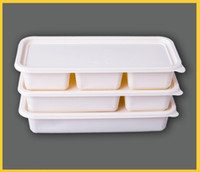 fast food box corn starch 3 parts compostable biodegradable ...