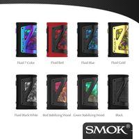 Authentique SMOK Scar 18 230W Box Mod compatible avec TFV9 réservoir Equipé de 0,96 pouces écran TFT