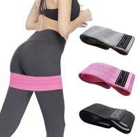 3 faixas da resistência PCS Set puxar para cima Elastic Booty Bandas Set Yoga fitness equipamentos para a casa Gym Squat Training Exercise