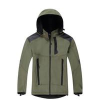 Moda - Softshell impermeabile traspirante Uomini all'aperto Cappotti sportivi da donna Escursioni invernali antivento invernale Soft Shell