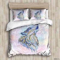 Duvet Cover Sets Colorful dragon custom Bed Linens Bedding S...