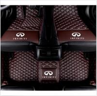 인피니티 G37 JX35 Q50 Q60 Q70 QX30 QX50 QX56 QX60 QX70 QX80- 벨로스터 카 플로어 매트