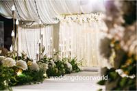 새로운 스타일 도매 장식 초대장 인도 결혼식 무대 장식 mandap 배경 light0875에 대한 리드 라이트와 함께
