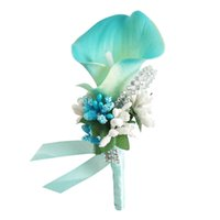 Wrist Corsage for Men Grooms Girl Bridal Bridesmaid, Wrist Corsage Hand Flower Wedding Prom Party Decorations (Set of 2pcs)