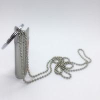 Neueste Feuerzeug Fall Metall Shell Tragbare Fingerring Halskette Dekoration Schützt die Haut Innovatives Design Für Zigarette Pfeife Werkzeug DHL