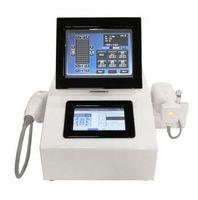 Doppio screenLiposonix HIFU ultrasuoni 2 in 1 Viso ringiovanimento della pelle rimozione delle rughe dimagrante macchina terapia ad ultrasuoni corpo LipoSonix