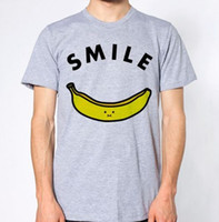 Banana T- Shirt Fruit Lover Top Graphic Design SmileFunny fre...