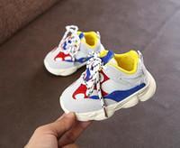 Осень Детская Обувь Дизайнерская Обувь Мальчики Девочки Детские Малыша Спортивная Обувь Детские Детские Кроссовки Детские Первые Ходунки