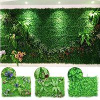 العشب الاصطناعي مروج 40 * 60CM البيئة العشب الاصطناعي زهرة العشب ستريت دقيق البلاستيك مصنع الزفاف المنزل والحديقة بلكونة الديكور