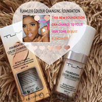 30ml TLM Flawless Color Changing Liquid Foundation concealer...