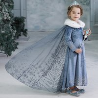 Retail 2020 New kids dress snow queen princess dresses with ...