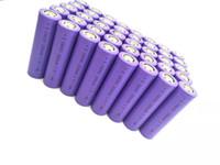 40pcs / lot Batteria di alta qualità 18650 nuova batteria 18650 3.7 V 2000mAh batteria ricaricabile agli ioni di litio per torce elettriche, banca di alimentazione, ecc. BATTERIA BATTERIA