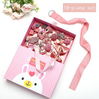 Exquisite Gift Holiday Gift Hair Clip Set Box Children'...