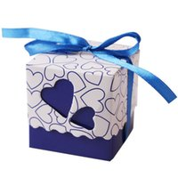 10Pcs Gift Box Candy Boxes Love Heart Candy Boxes Wedding Fa...