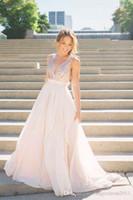 2019 sexy tiefe ven nein langen bridemaid kleider backless pailletten chiffon formale prom party kleid plus größe hochzeitsgastkleider abendkleider